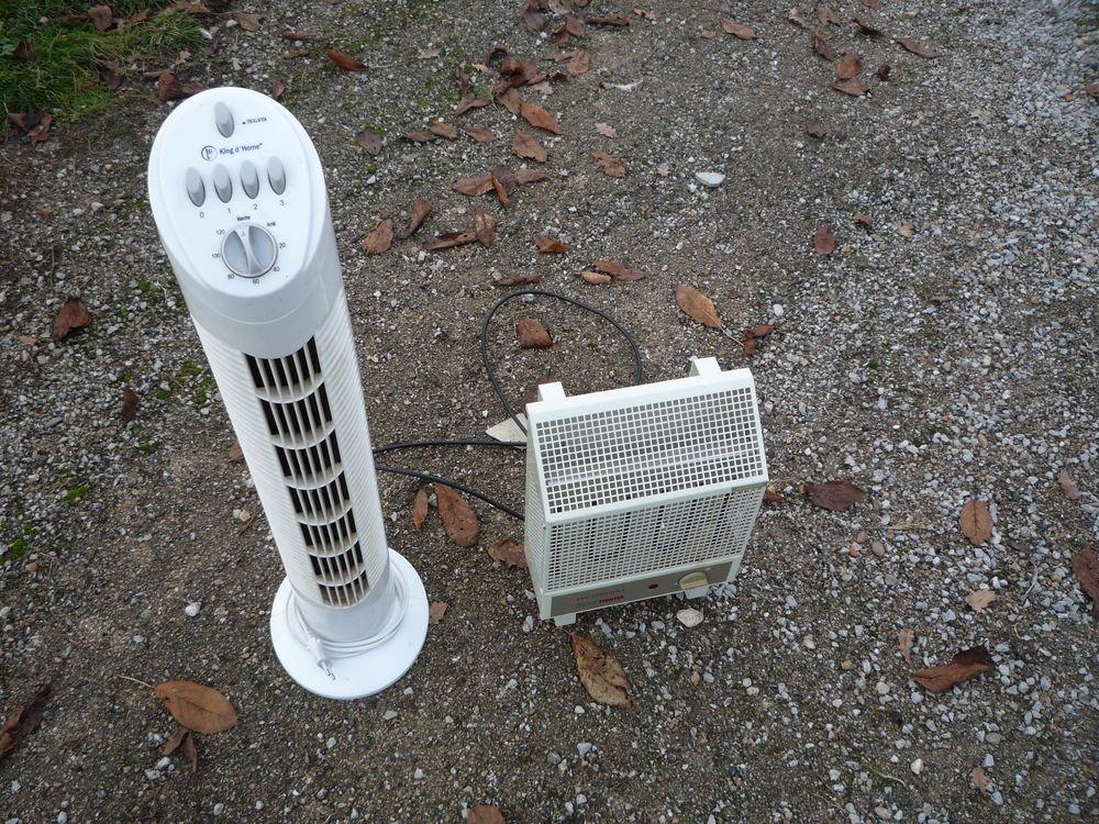Ventilateur colonne/radiateur chauffant Bricolage