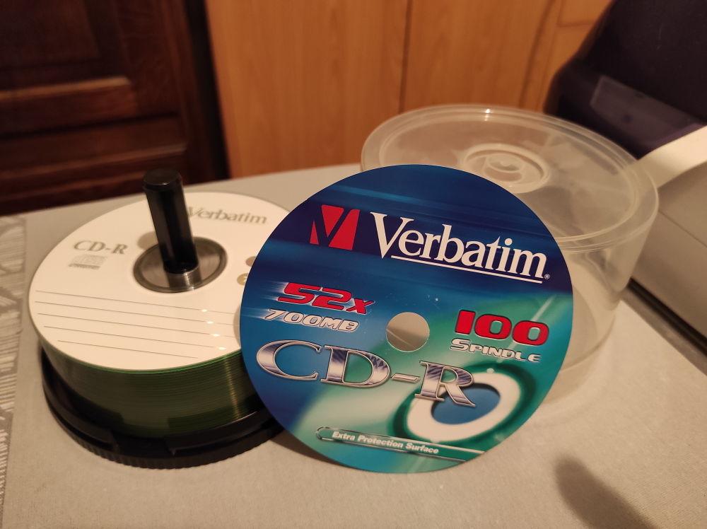 Lot de 30 CD-R Verbatim - 700 Mb - 52x 15 Joué-lès-Tours (37)