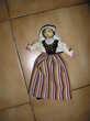 Véritable ancienne  poupée gasconne Septèmes-les-Vallons (13)