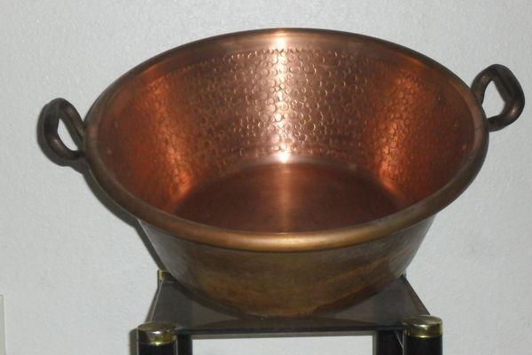 Véritable bassine à confiture en cuivre neuve 45 cm 300 Annecy-le-Vieux (74)
