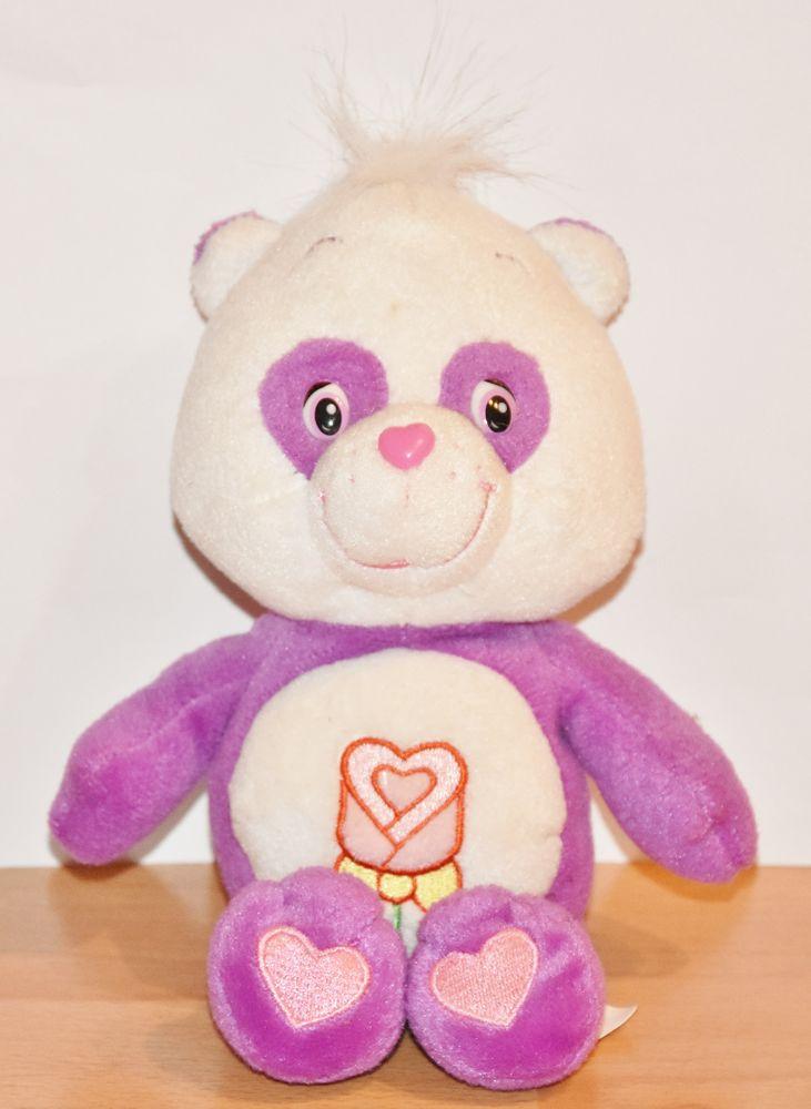 Véritable Bisounours Care bears. Violet. 23 cm x 12 cm.  14 Gujan-Mestras (33)