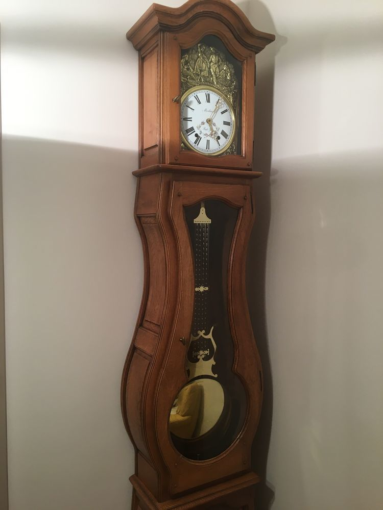 Véritable horloge comtoise en chéne massif 390 Rouen (76)