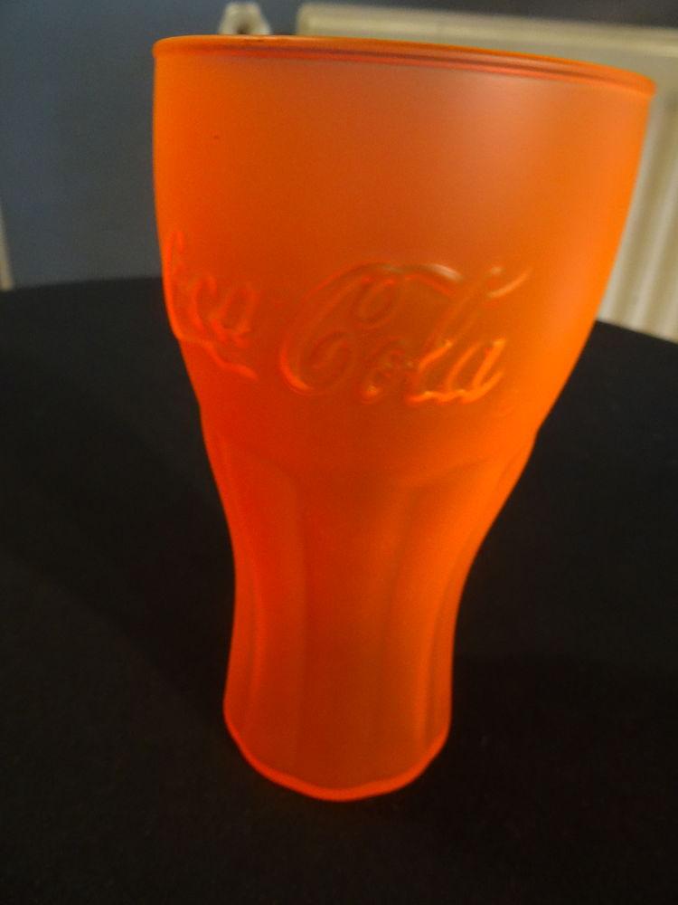 verre coca orange 3 Albi (81)