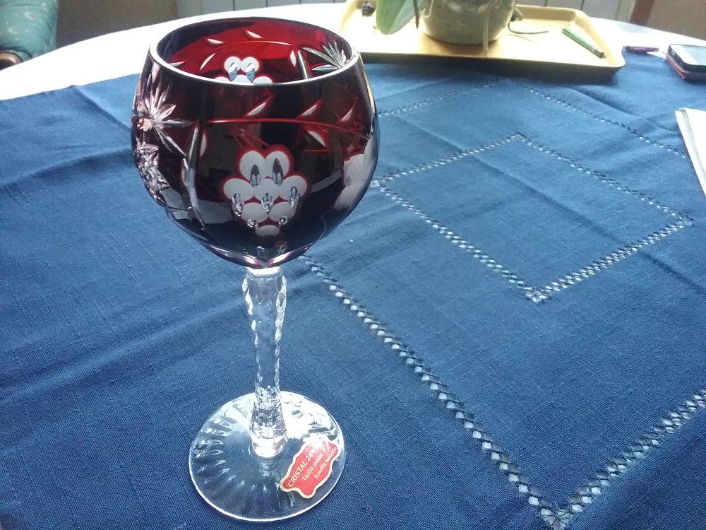 verre crislal 24% bordeaux .parfait etat 50 Flers (61)