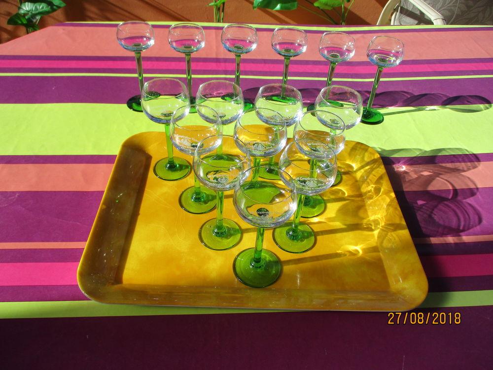 Lot de 10 + 6 verres Alsace (Orschwiller) 25 Le Vernois (39)