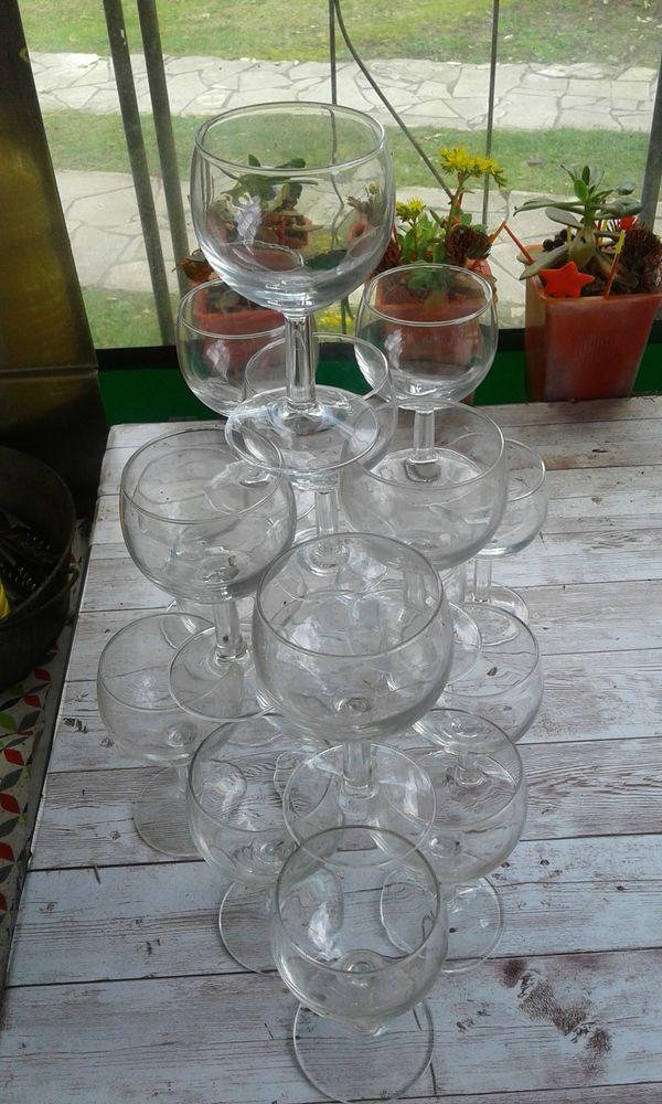 24 verres ballon  4 Ondres (40)