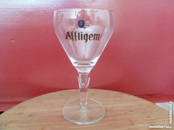 T33:6 verres à bière AFFLIGEM nouveau modèle 25 cl 12 Vauréal (95)