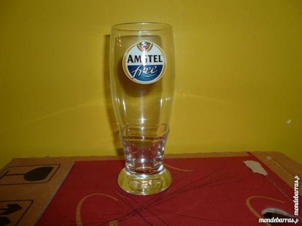 T33: 6 verres à bière AMSTEL FREE 25 cl 8 Vauréal (95)