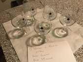 5 verres à bière GOTHIC 39 Romorantin-Lanthenay (41)