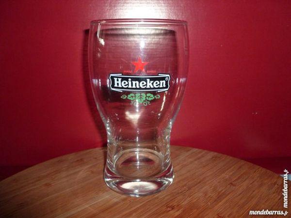 T33: 6 verres à bière HEINEKEN Pinte 50 cl 9 Vauréal (95)