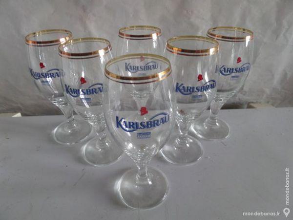 verres de biere KARLSBRAU 15 Lyon 8 (69)