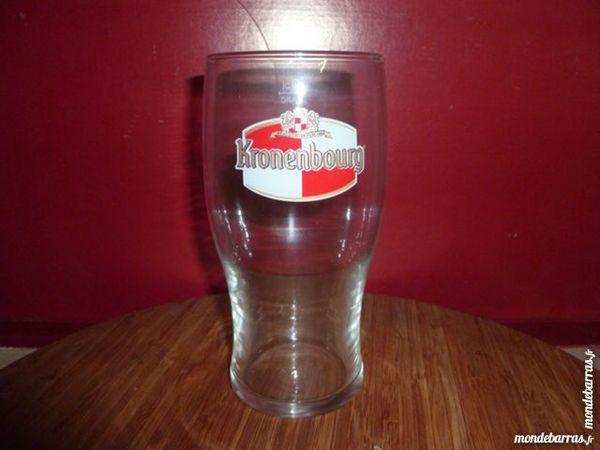 T33: 6 verres à bière KRONENBOURG Pinte 50 cl 8 Vauréal (95)