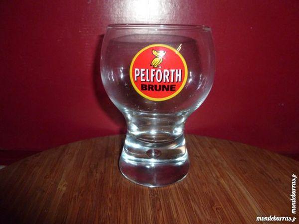 T33: 6 verres à bière PELFORTH Brunes 25 cl 9 Vauréal (95)