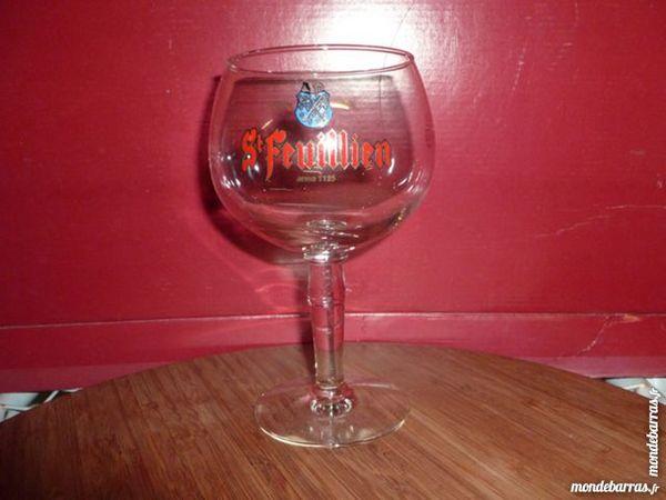 T33: 6 verres à bière SAINT FEUILLIEN en 25 cl 9 Vauréal (95)
