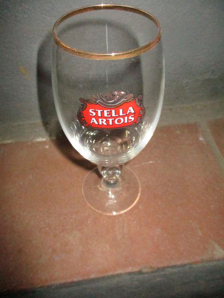 6 verres à bière STELLA 33 cl estampillés pas un éclat 0 Mérignies (59)