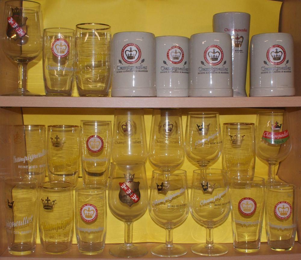 verres et chopes CHAMPIGNEULLES 84 Montcy-Notre-Dame (08)