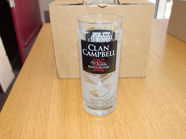 6 verres Clan Campbell - 17cl - neufs 5 Nantes (44)