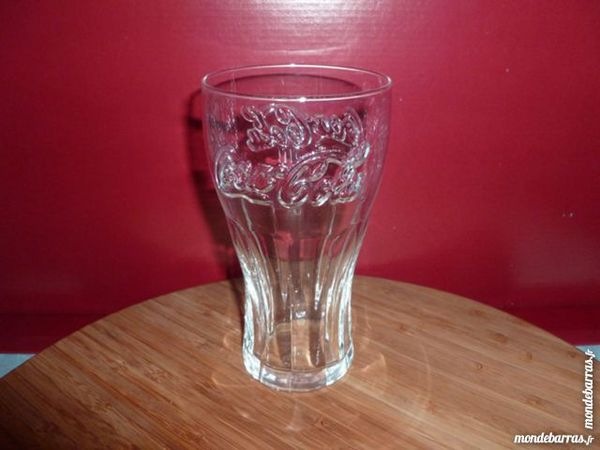 T33: 6 verres COCA COLA transparents 37 cl 7 Vauréal (95)