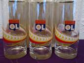 3 verres de coca cola OLYMPIQUE LYONNAIS 8 Lyon 8 (69)