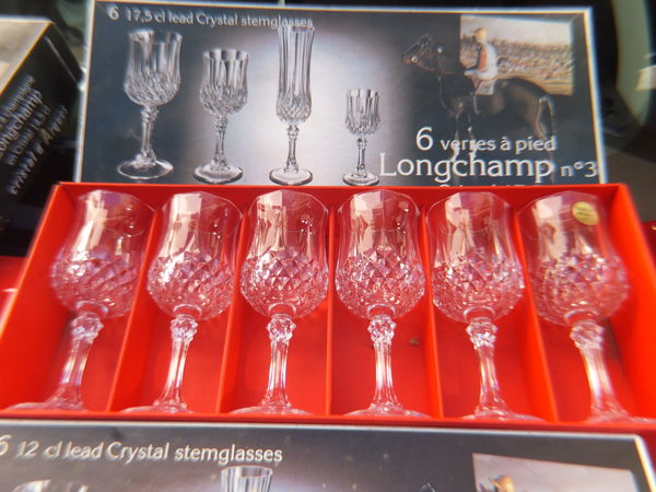 Verres cristal d'Arques 30 Élancourt (78)