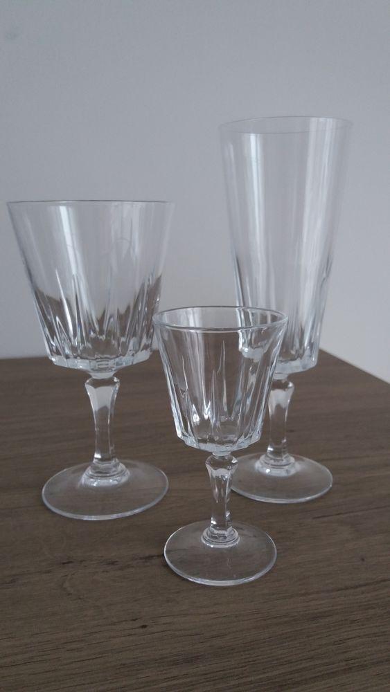 Verres en cristal d'Arques 22 Guidel (56)