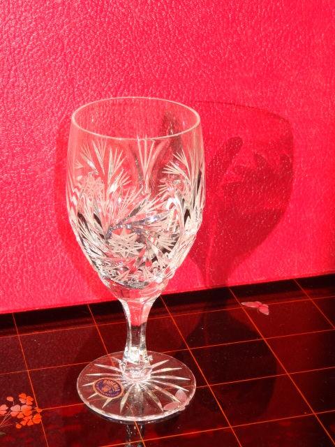 Lot de 6 verres en cristal de Bohême Arts de la table 150 L'Aigle (61)