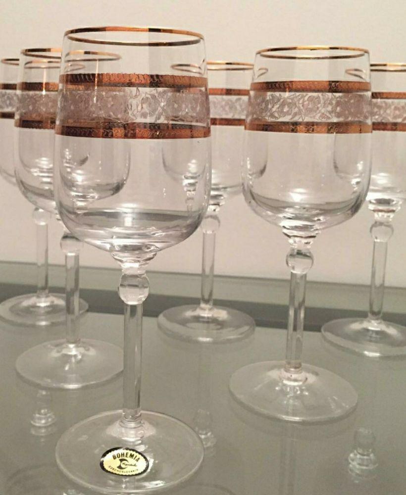 verres à eau en cristal de Bohème 50 Montigny-le-Bretonneux (78)