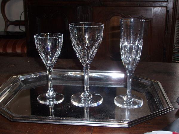 Achetez verres en cristal quasi neuf annonce vente sainte mesme 78 wb148 - Verre saint louis prix ...