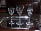 verres en cristal Saint Louis collection Bristol 1200 Sainte-Mesme (78)