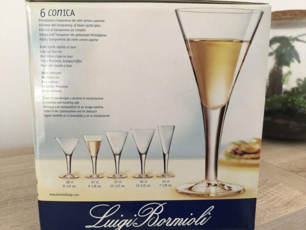 Lot de 6 verres à eau/vin en cristallin 27 cl  8 Grasse (06)