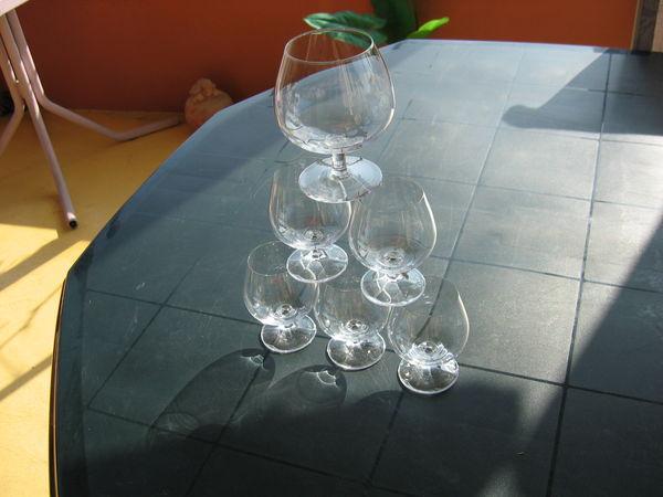 5 + 1 verres dégustation 15 et 25 cl 30 Le Vernois (39)