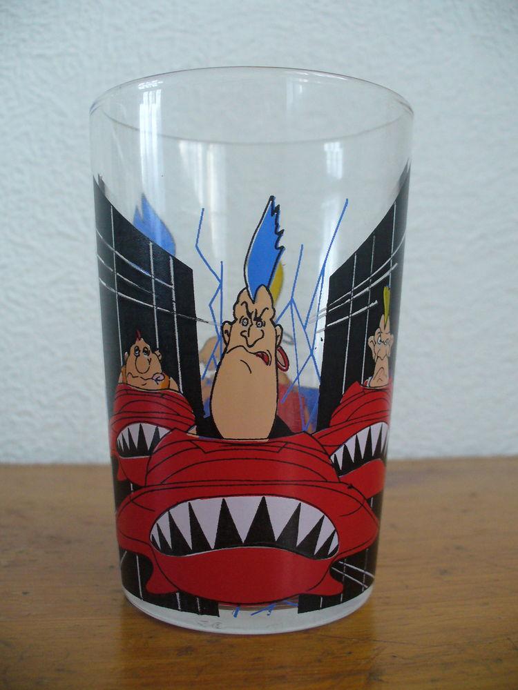 Lot de 2 verres dessins animés années 80 5 Conflans-Sainte-Honorine (78)