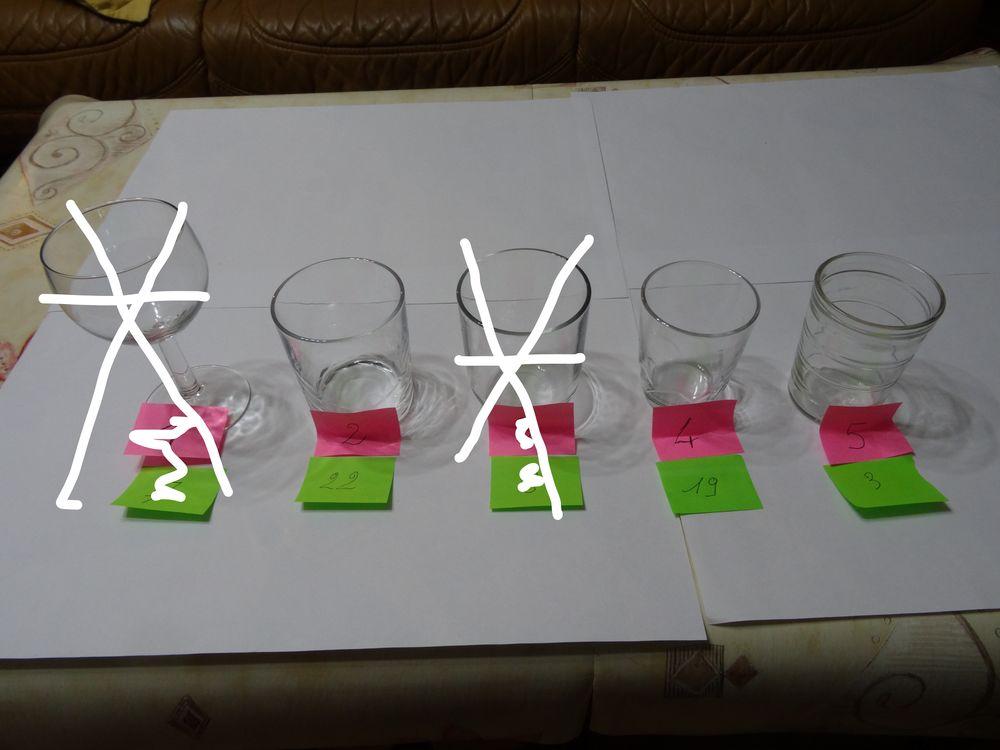 verres divers  0 Merville (59)
