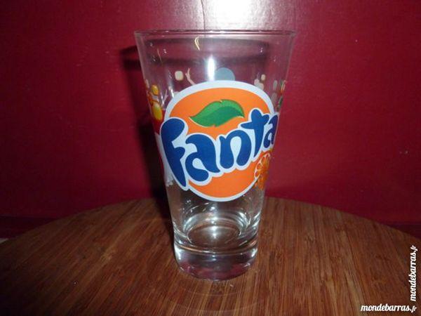 T33: 6 verres à FANTA, coniques 8 Vauréal (95)
