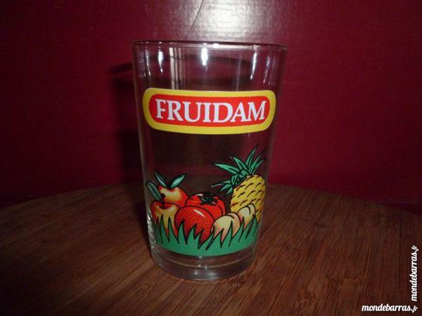 TR: 6 verres à jus de fruits FRUIDAM 8 Vauréal (95)