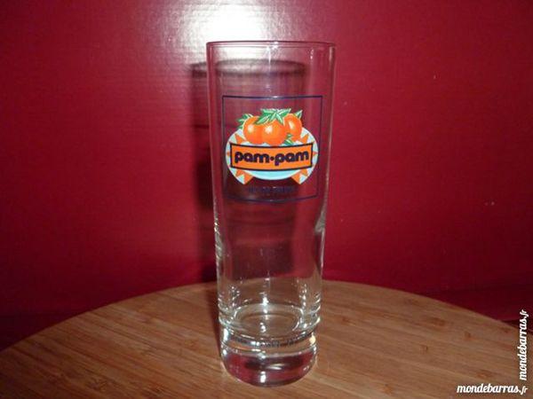T33: 6 verres à jus de fruits PAM PAM 7 Vauréal (95)
