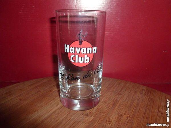 T33: 6 verres HAVANA CLUB droits 8 Vauréal (95)