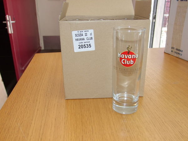 6 verres Havana Club - 22cl - neufs 10 Nantes (44)