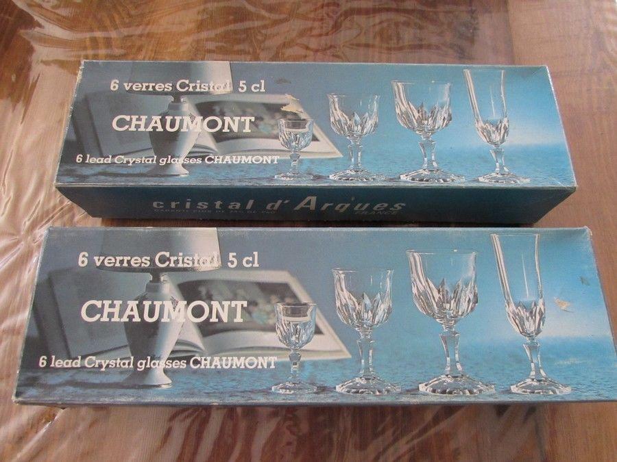12 verres à liqueur en cristal 25 Saint-Nazaire-de-Pézan (34)