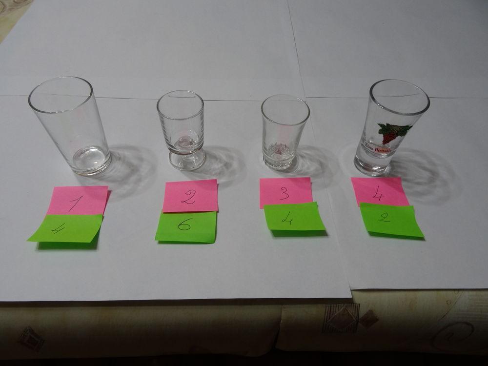verres a liqueur Electroménager