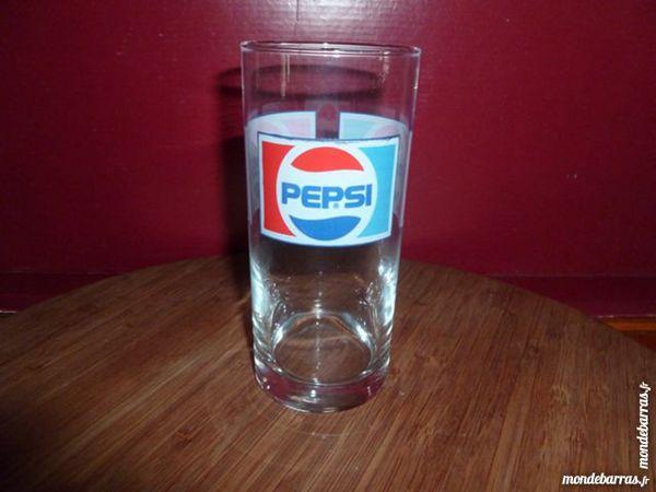 TR: 6 verres PEPSI, bandeau 3 logos 8 Vauréal (95)