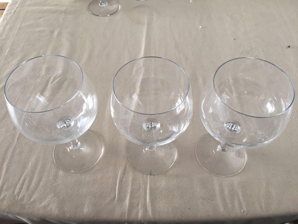 3 Verres sur pied en cristal 50 cl 15 Perpignan (66)