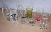 Lot de 8 verres publicitaires neufs 10 Aix-les-Bains (73)