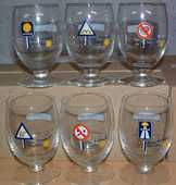 6 verres RICARD collector 70 Montcy-Notre-Dame (08)
