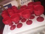 Lot de 12 verres rouges  0 Paris 20 (75)