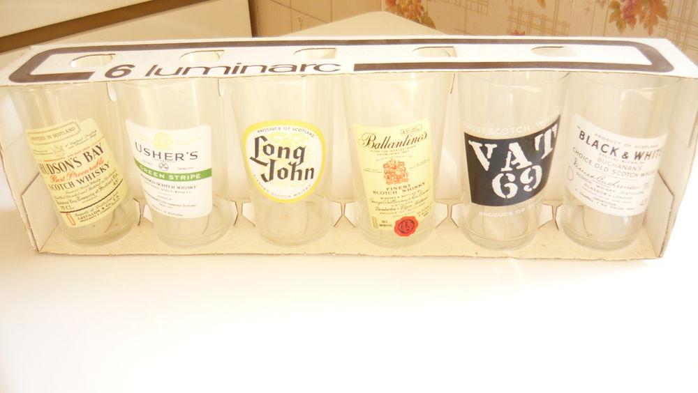 verres a whisky   grand modèle  12 Châtillon-en-Vendelais (35)