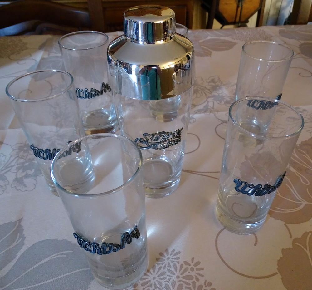 6 verres à whisky et shaker à cocktails 5 Frans (01)