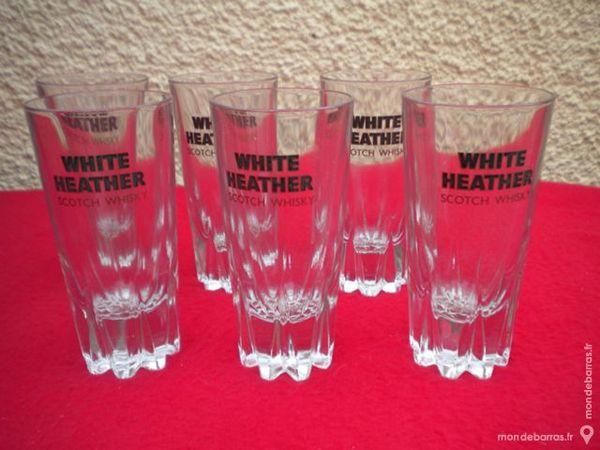 6 VERRES à whisky « White Heather » 6 Dammarie-les-Lys (77)