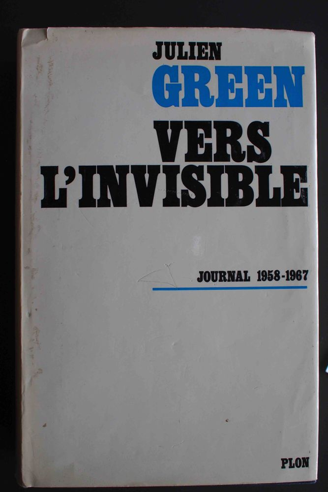 Vers l'invisible - Julien Green, 5 Rennes (35)