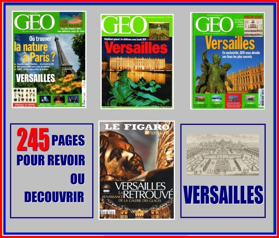 VERSAILLES - géo - CHÂTEAU ET JARDINS  16 Lille (59)